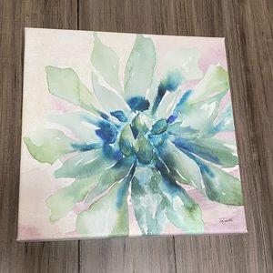 Succulent Canvas Art